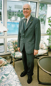 Jon Skrede(73). Foto: Haakon Dirk Blaauw