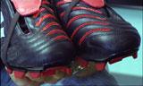 Disse skoene kan utgjøre den lille sorskjellen som skal til. Foto: NRK.