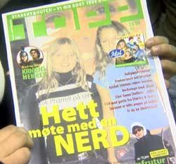 Ungdommene på diskoteket er allerede av den mening av at arrangørens blad er det beste.