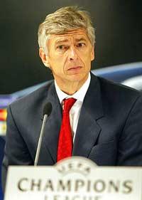 Arsenal-trener Arsene Wenger (Foto: Scanpix/Gorm Kallestad)