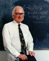 Den britiske fysikeren Peter Higgs ga navn til Higgs-partikkelen i 1964. Foto: Arkiv