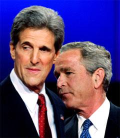 De to duellantene venter spent på hva velgerne mener om deres innsats. (Foto: Reuters/Scanpix)
