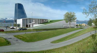 Kosbergs Arkitektkontor har tegninger klare til nytt folkebad bak Rica Seilet.