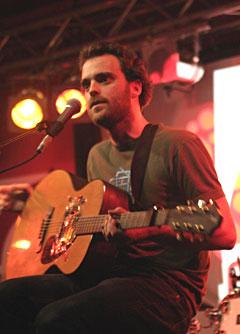 Live fra Norwegian Wood: Oslo-bandet Minor Majority. Foto: Per Ole Hagen.