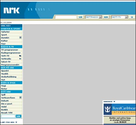 Hvilke nyheter vil du gjerne se på forsiden av nrk.no? Eller har du forslag til ny layout?