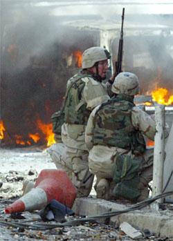 Voldshandlingene og likvidasjonene i Irak er økende, halvannet år etter at USA gikk til krig mot landet. (Foto: Reuters/Scanpix)