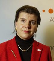 Administrerende direktør, Randi Flesland. Foto: Scanpix.