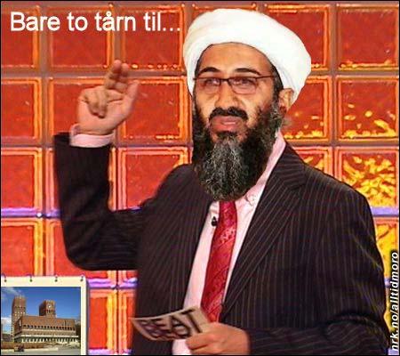 Bin Laden overtar etter Dyrhaug. (Innsendt av Thore Øivind Snipstad)