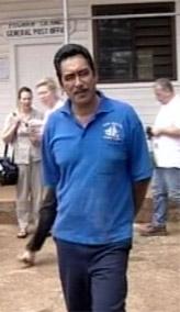 TILTALT FOR OVERGREP: Ordføreren på sydhavsøya Pitcairn, Steve Christian, er en av mennene på øya som er tiltalt for seksuelle overgrep mot mindreårige. (Foto: AP/TVNZ/Scanpix)