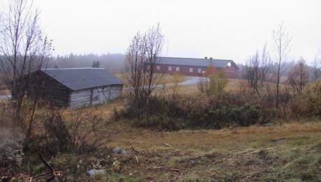 Syningen skyte- og øvingsfelt . Foto: NRK.