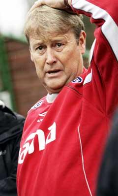 Åge Hareide vil vinne når landslaget tar ledelsen. (Foto: Tor Richardsen / SCANPIX)