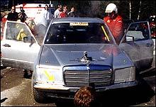 Med denne Mercedes 500 SEL V8 var Nils Wærstad en fryktet mann i bilcrossmiljøet.