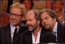 Ivar Dyrhaug, Henning Kvitnes, Gisle Børge Styve. Foto: NRK.