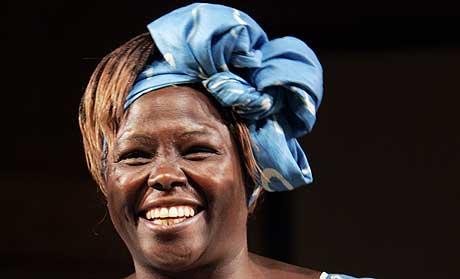 I fjor gikk prisen til kenyanske Wangari Maathai. (Scanpix-foto)