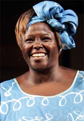 Wangari Maathai (Foto: Scanpix)