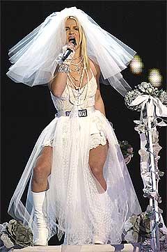 Britney Spears har giftet seg på ordentlig. Foto: Scanpix.