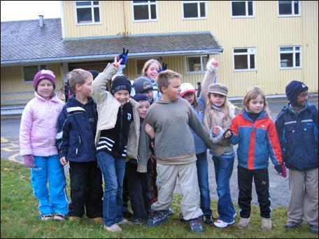 Daniel Nerli Gussiås og medelever på Groven hadde gledd seg til ny skole. (Alle foto: Gunnar Sandvik)