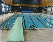 Siste stup er snart tatt i svømmehallen i Idrettens hus i Molde. Foto: Roar Strøm