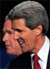 DYR VALGKAMP: Demokraten Kerrys valgkamp er ikke fullt så dyrt som Bushs, men det koster.