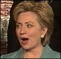 Hillary Clinton gråt da sannheten kom frem. (Foto: APTN / POOL)