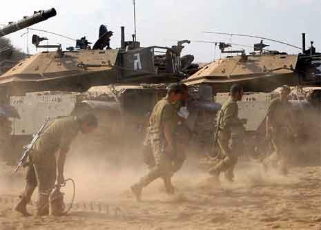 Israelske styrkar har starta tilbaketrekkinga frå den nordlege Gazastripa. (Foto: AP/Scanpix)