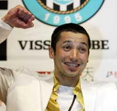 Ilhan Mansiz har spilt i Japan et halvt år. (Foto: AP/Scanpix)