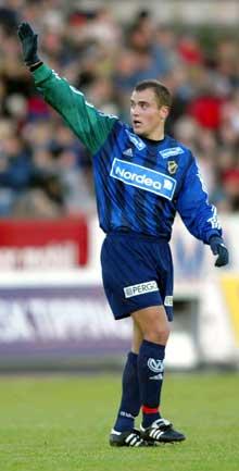 Tom Stenvoll jubler etter 1-0. (Foto: Gorm Kallestad / SCANPIX)