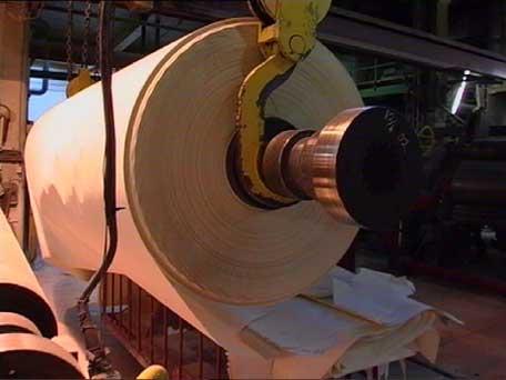 Papirmaskin nr. 5 stenges og er solgt til Pakistan (Foto: Odd Rømsteland)