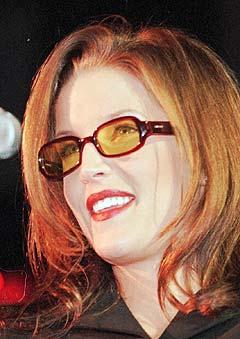Lisa Marie Presley gir ikke opp i jakten på den ekte kjærligheten. Foto: AP Photo / Troy Glasgow.