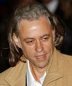Sir Bob Geldof står igjen i spissen for et Band Aid-prosjekt. Foto: AP Photo / Max Nash.