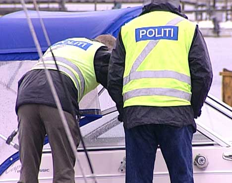 Politiet leter etter stjålne båter i Oslofjordsområdet torsdag og fredag ( Foto: Anders Winlund, NRK )