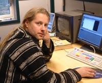 Fotograf Tom Edvindsen har laget programmet Foto: Wenche L. Hadland