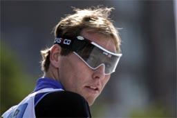 Håvard Bjerkeli vann sprintstafetten saman med Tor Arne Hetland søndag (Foto: Scanpix)