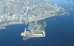 Formannskapet sa onsdag nei til planene om et kombinert hotell, kulturhus og fotballstadion på Tjuvholmen i Hamar.