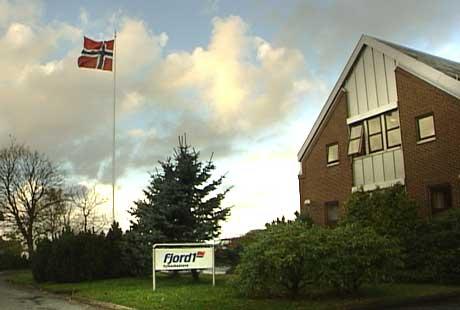 Fjord1 Fylkesbaatane sitt kontor i Florø. (Foto: NRK)