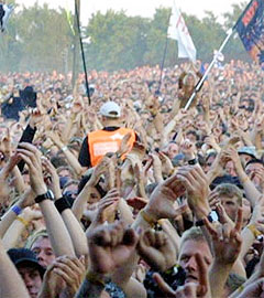 Ungdommen vil fortsatt være musikkinteressert, og fortsette å høre på musikk... Foto: Jørn Gjerøse, nrk.no/musikk.
