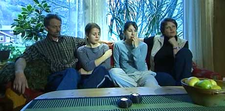 Sterk støtte til Tatjana og Olga Belik. Arkivfoto NRK