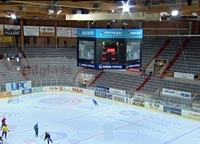 Mediekuben i Hamar OL-amfi har kosta over 3 millionar kroner.