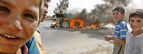 FORSIKTIGE ANSLAG: 100.000 flere mennesker enn normalt har dødd i Irak, ifølge forskerne. (Foto: Akram Saleh/Reuters)