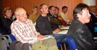Mange følgde spent med på kommunestyret si handsaming av skulesaka i Gausdal.