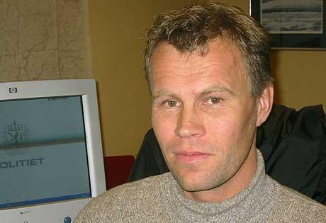 Dag Fiske er leiar for Politiforbundet i fylket - foto Vidar Vie NRK