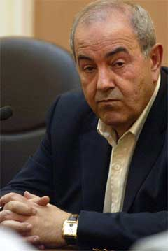 Iraks statsminister Iyad Allawi. (Foto: AP/Scanpix)