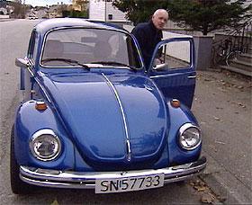 Harald Aabrekk har en forkjærlighet for bobler. - Det er folkebilen. Jeg har tre. Jeg liker at det er sjel i de kjøretøyene jeg har.
