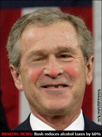 Bush med tilbakefall? (Innsendt av Bjørn Ivar Knudsen)