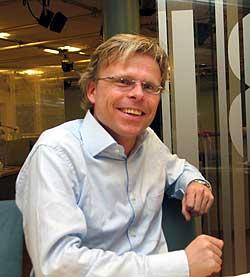 Bjørn Erik Sættem deltok i dagens nettmøte.