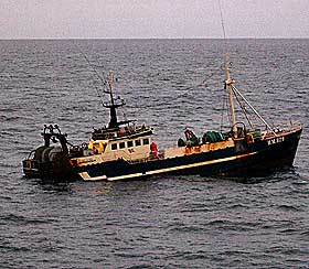 "Fiskebåten ""Heidi Katrin"". Foto: Havila."