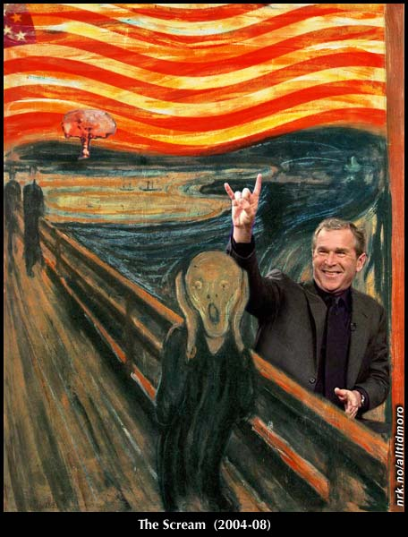 (English version: The Scream - Bush 2004-2008)
