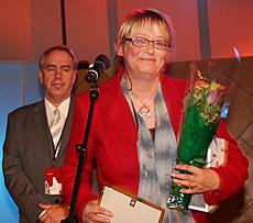 - Hun er sin egen lytter, - og dermed lytternes representant, - i studio, sa juryen om Kari Sørbø. (Foto: Jon-Annar Fordal)