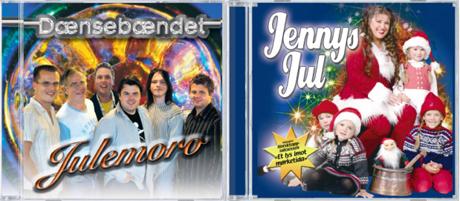 Dænsebændet og Jenny Jenssen med juleplater