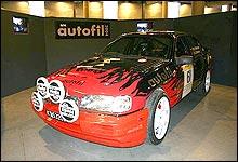 Nils Wærstads Ford Sierra Cosworth. (Foto: Jan Henrik Mo)